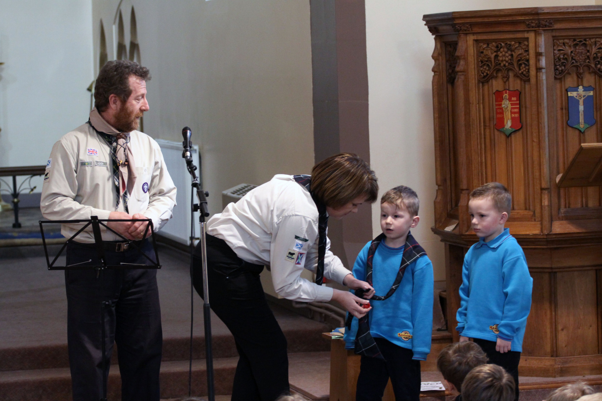 Two new beavers get invested